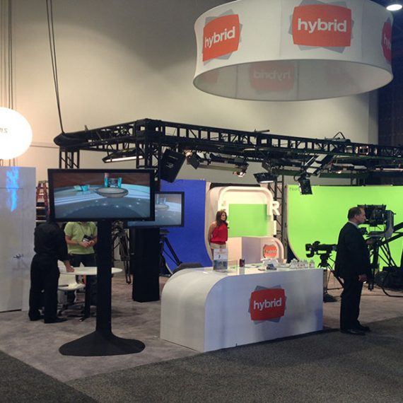 Hybrid TV at NAB Las Vegas