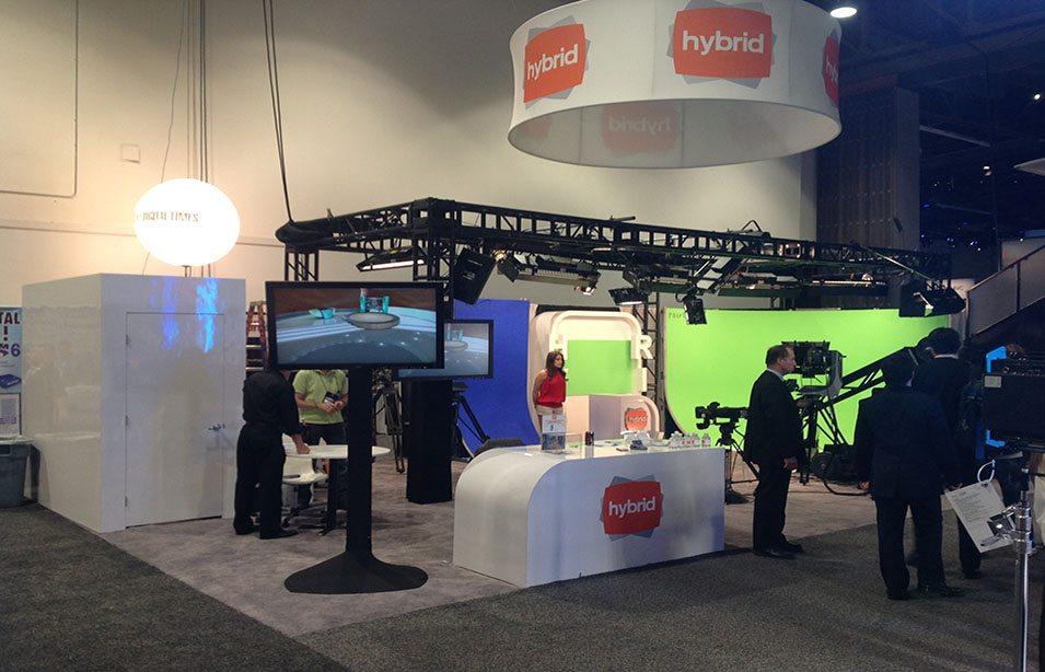 Hybrid TV at NAB Las Vegas