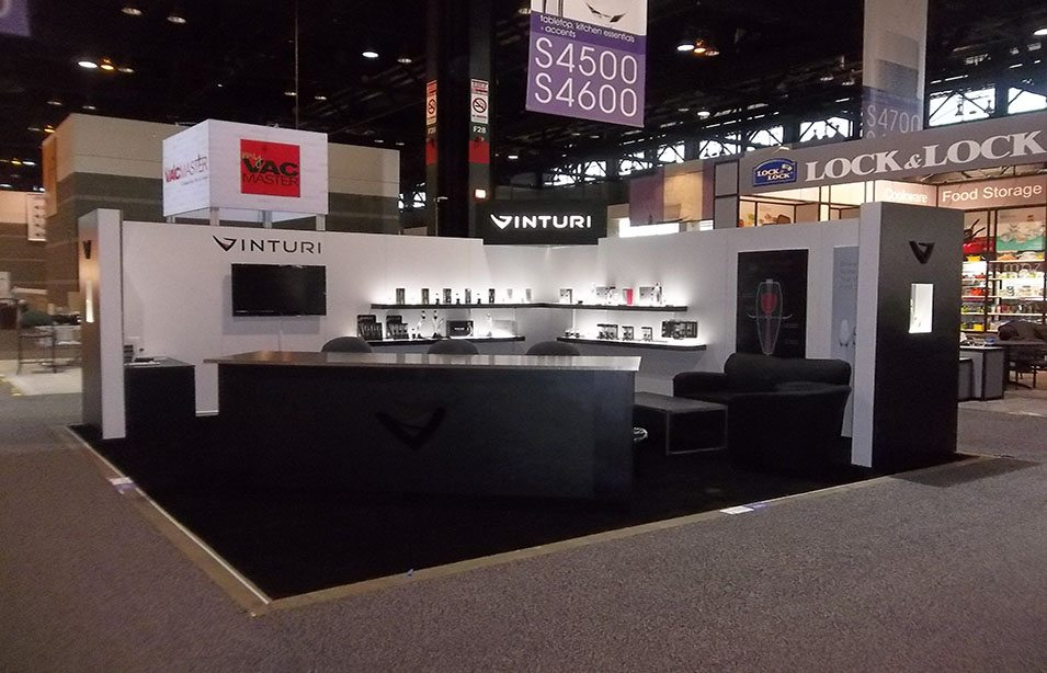 Vinturi exhibit trade show