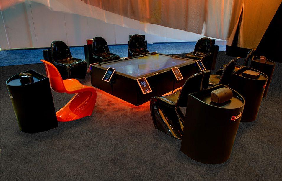 DTS at CES Las Vegas exhibit